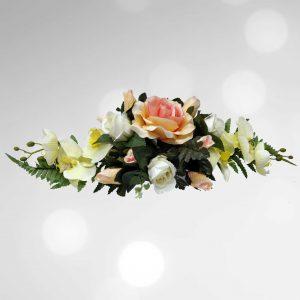 Zijden bloemstuk 1