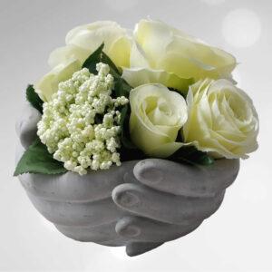 Zijden bloemstuk 0